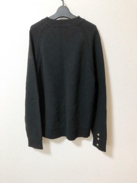 CARE LABEL(ケア レーベル) 長袖セーター メンズ美品  黒