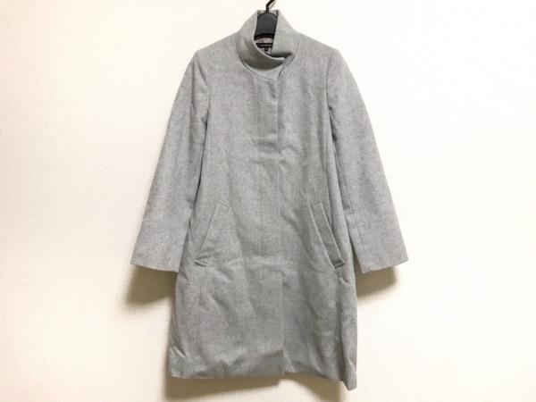 LAUTREAMONT(ロートレアモン) コート サイズ38 M レディース美品  ライトグレー 冬物