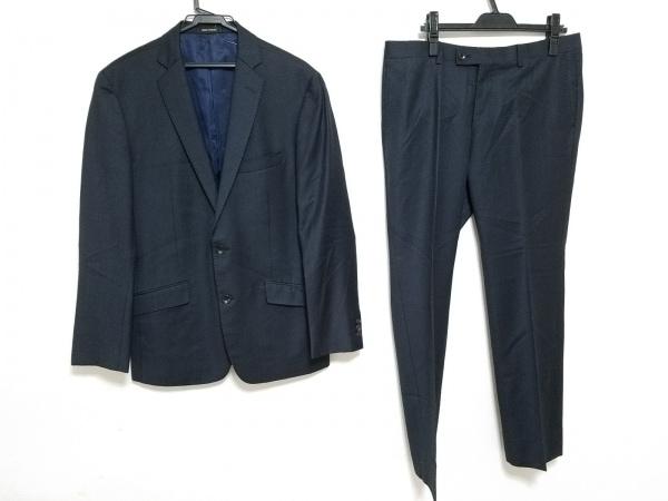 HIGH STREET(ハイストリート) シングルスーツ サイズLL メンズ 黒×ブルー