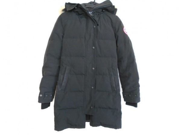 カナダグース ダウンコート サイズS レディース マッケンジー 2302JL 黒 冬物/ファー
