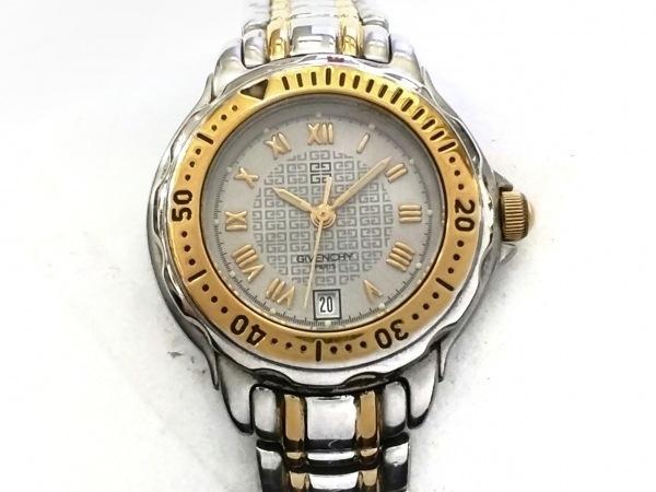 GIVENCHY(ジバンシー) 腕時計美品  - レディース シルバー