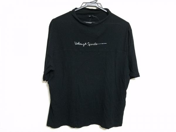 バレンザスポーツ 半袖カットソー サイズ48 XL レディース 黒×クリア