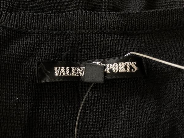 VALENZA SPORTS(バレンザスポーツ) ベスト サイズ48 XL レディース美品  黒×クリア