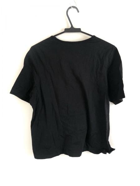 バレンザスポーツ 半袖Tシャツ サイズ48 XL レディース 黒×ゴールド×クリア