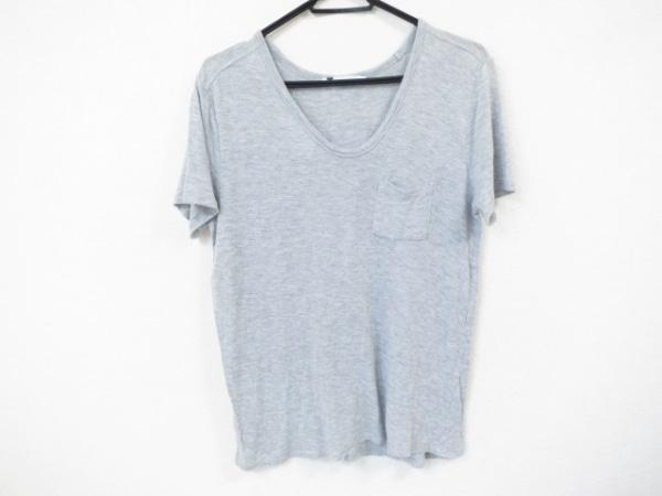 アレキサンダーワン 半袖Tシャツ サイズXS レディース美品  ライトグレー 透け感あり