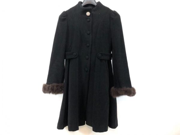 Swingle(スウィングル) コート サイズ2 M レディース美品  黒 冬物