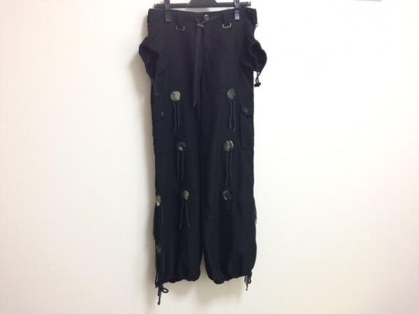 ILLIG(イリグ) パンツ サイズXS レディース 黒×マルチ