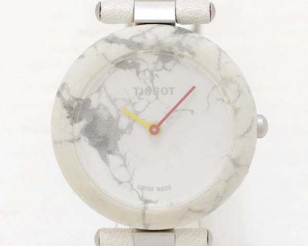 TISSOT(ティソ) 腕時計 ロックウォッチ R150 レディース 白×グレー