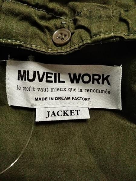 MUVEIL WORK(ミュベールワーク) コート サイズ36 S レディース美品  カーキ 春・秋物