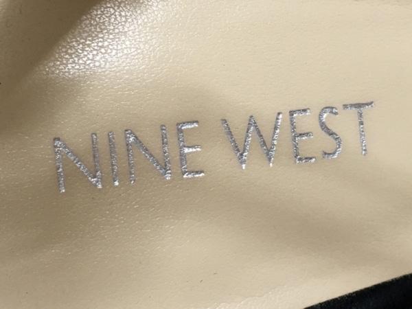 NINE WEST(ナインウエスト) サンダル 7 2/1 レディース 黒 レザー
