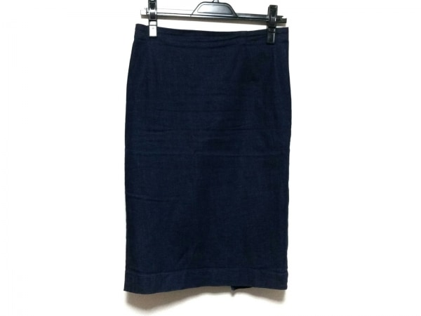 whim gazette(ウィムガゼット) スカート サイズ38 M レディース ダークネイビー