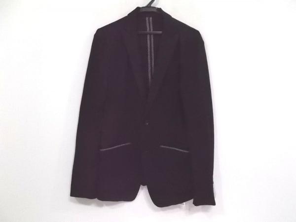 MEN'SBIGI(メンズビギ) ジャケット サイズ3 L メンズ 黒×白 薄手/ストライプ