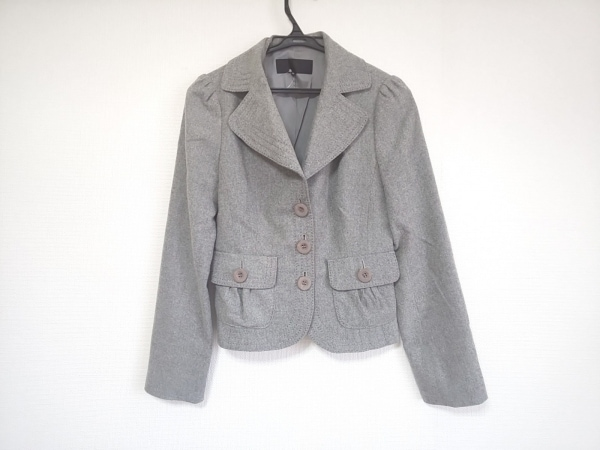 FRAGILE(フラジール) ジャケット サイズ38 M レディース美品  グレー 肩パッド