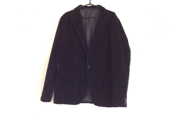 TK (TAKEOKIKUCHI)(ティーケータケオキクチ) ジャケット サイズ4 XL メンズ 黒 ベロア