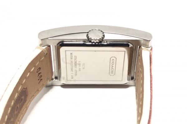 COACH(コーチ) 腕時計 0234 レディース 白
