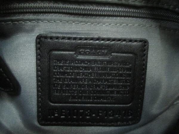 COACH(コーチ) ハンドバッグ パーカーレザーコンバーチブルヒッピー F13416 黒 レザー