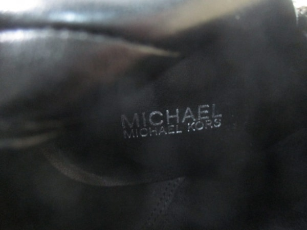 MICHAEL KORS(マイケルコース) ショートブーツ 5 1/2 レディース 黒 レザー