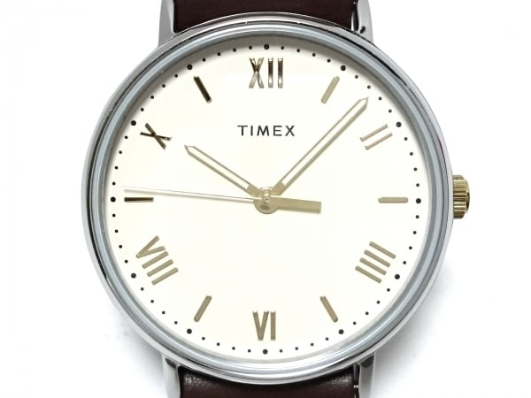 TIMEX(タイメックス) 腕時計美品  SR626SW ボーイズ アイボリー