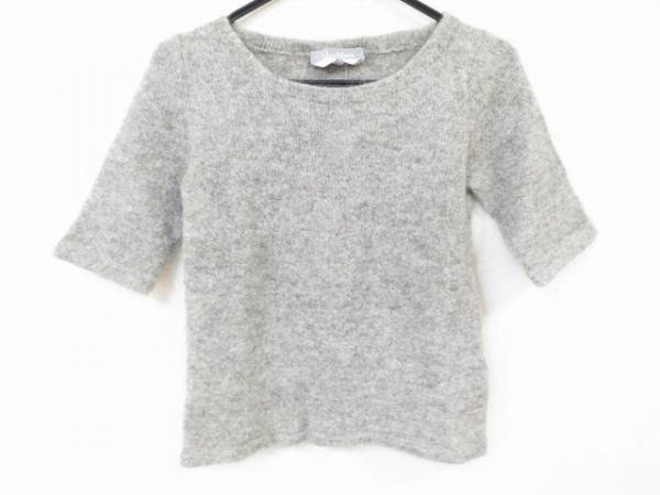 Max Mara(マックスマーラ) 半袖セーター サイズS レディース美品  ライトグレー