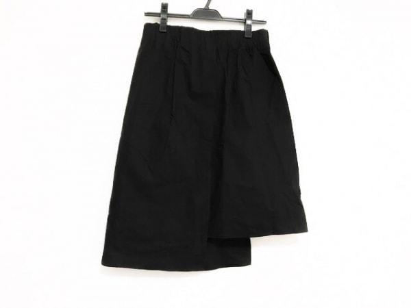 Bassike(ベイシーク) スカート サイズ1 S レディース美品  黒 アシンメトリー