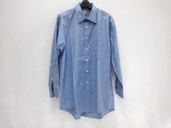 Aquascutum(アクアスキュータム) 長袖シャツ サイズ80 メンズ新品同様  ブルー