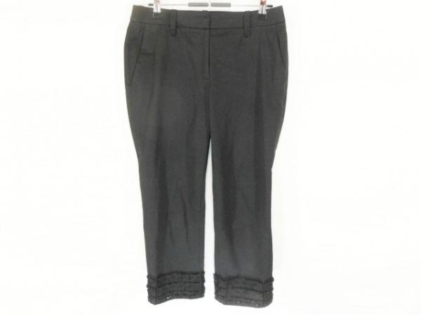COTOO(コトゥー) パンツ サイズ38 M レディース美品  黒 フリル/ビーズ