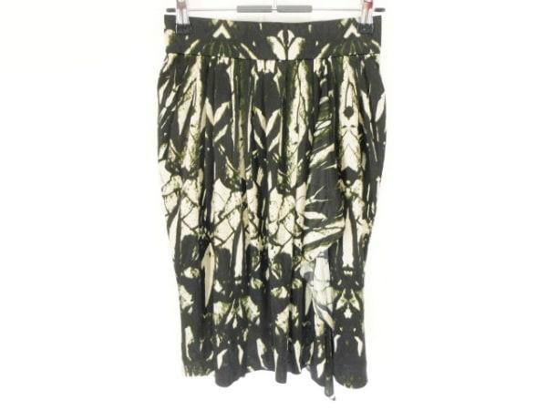 EPOCA(エポカ) スカート サイズ38 M レディース美品  黒×グレー