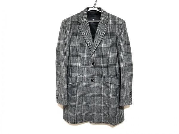 ブラックレーベルクレストブリッジ ジャケット サイズS メンズ美品  グレー×黒