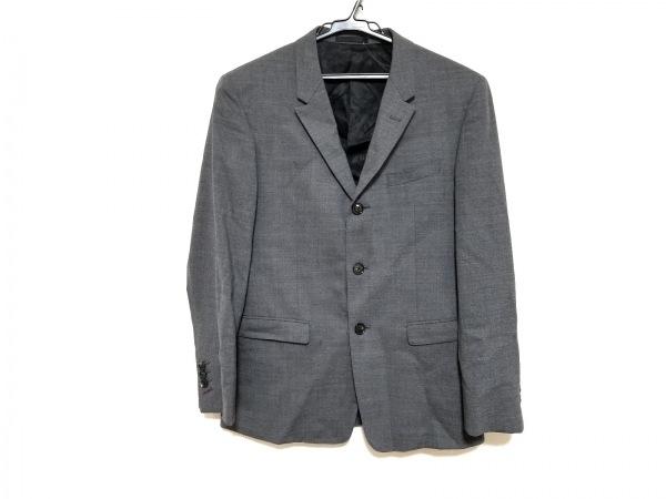 ブラックレーベルクレストブリッジ ジャケット サイズ36R メンズ美品  グレー REDA
