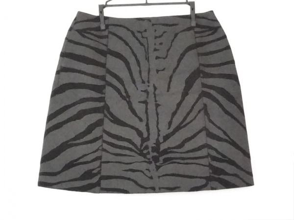 CARVEN(カルヴェン) スカート サイズ38 M レディース美品  ダークグレー×黒