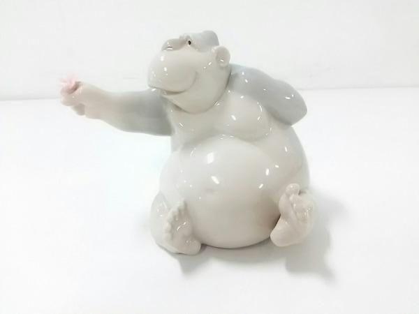 NAO(ナオ) 小物新品同様  ベージュ×グレー×ピンク 置物 陶器