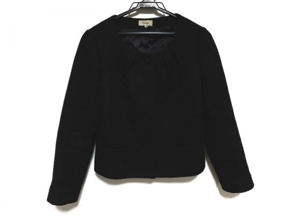 NOLLEY'S(ノーリーズ) ジャケット サイズ38 M レディース美品  黒