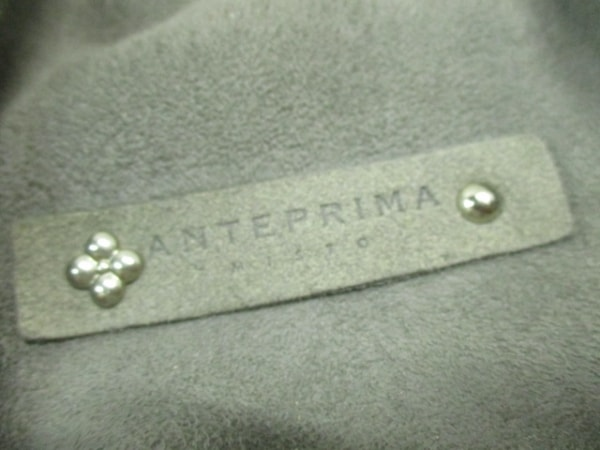 ANTEPRIMA MISTO(アンテプリマミスト) トートバッグ ダークグレー ムートン