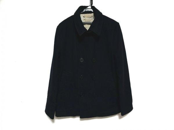 coen(コーエン) コート サイズL メンズ ネイビー 冬物