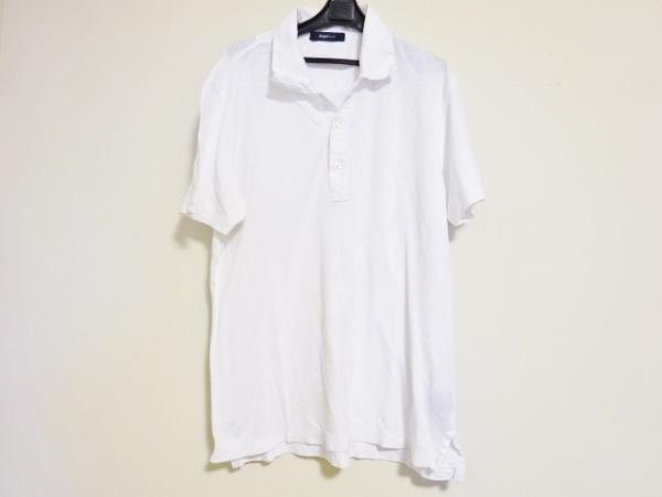 Zegna Sport(ゼニア) 半袖ポロシャツ メンズ 白