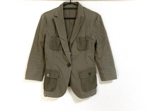 BOSCH(ボッシュ) ジャケット サイズ38 M レディース美品  カーキ 七分袖