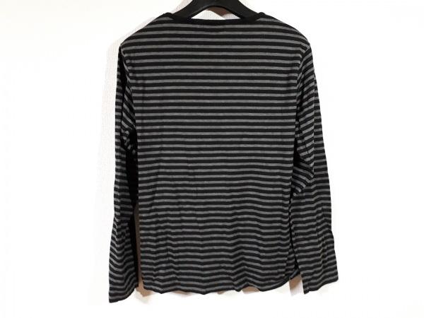 バーバリーブラックレーベル 長袖Tシャツ サイズ2 M レディース美品  ボーダー
