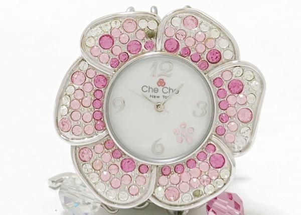 CheChe(チチ) 腕時計 CC18 レディース 白