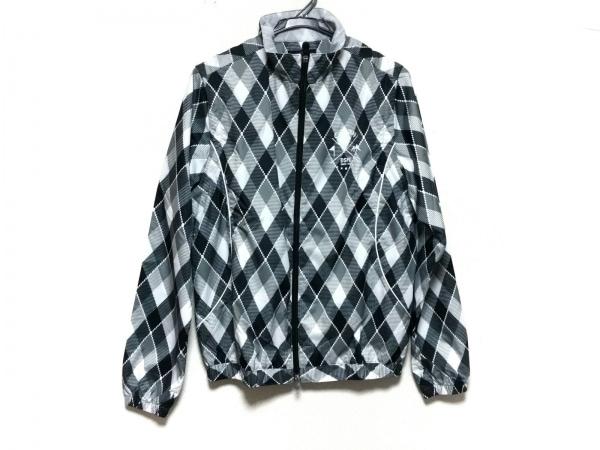 CALLAWAY(キャロウェイ) ブルゾン サイズM レディース美品  白×黒×ダークグレー