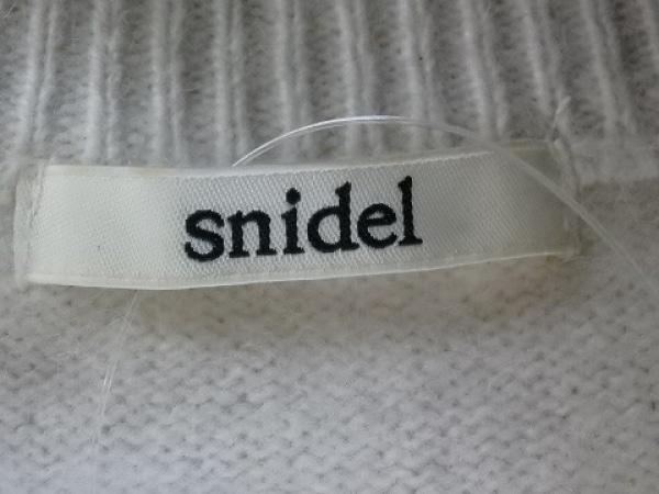 snidel(スナイデル) ワンピース サイズF レディース アイボリー