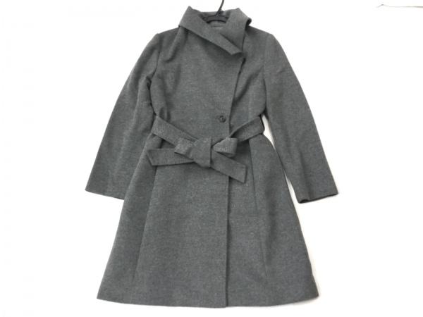 ROPE(ロペ) コート サイズ38 M レディース美品  ダークグレー 冬物