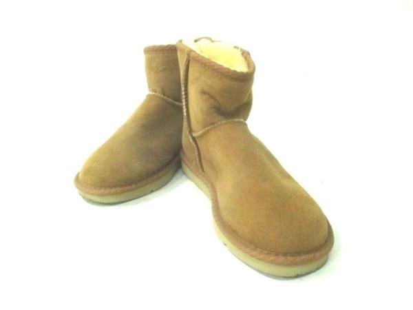 Koalabi(コアラビ) ブーツ 6 レディース ブラウン ムートン