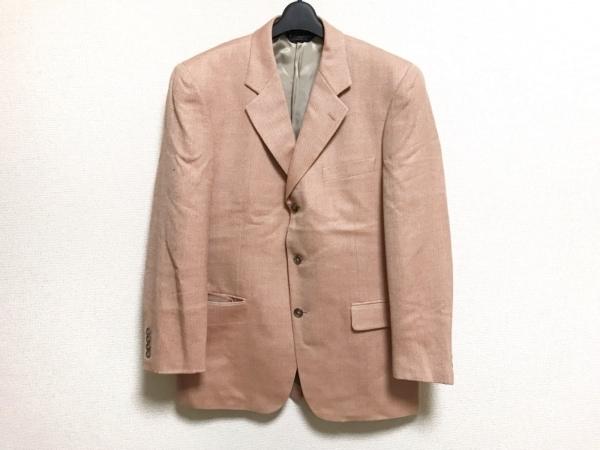 ブルックスブラザーズ ジャケット サイズ40 M メンズ美品  ベージュ×ピンク