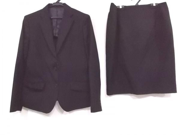 LES MUES(レミュー) スカートスーツ サイズL レディース 黒