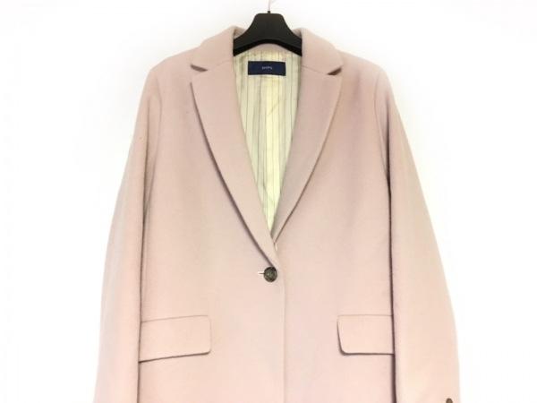SHIPS(シップス) コート サイズ40 M レディース美品  ピンク 冬物
