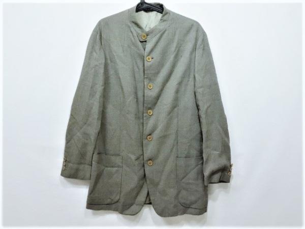 EMPORIOARMANI(エンポリオアルマーニ) ジャケット サイズ48 M メンズ アイボリー