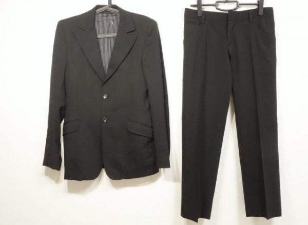 D&G(ディーアンドジー) シングルスーツ サイズ46/32 メンズ 黒