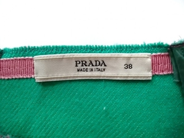 PRADA(プラダ) スカート サイズ38 S レディース ピンク