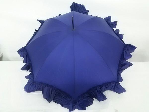 FOX UMBRELLAS(フォックスアンブレラ) 傘美品  パープル 化学繊維