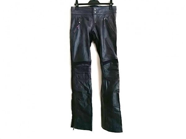 ハーレーダビッドソン パンツ サイズ0 XS メンズ ダークグレー レザー